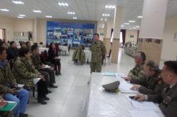 Конференция с начальниками медицинских служб Бишкекского гарнизона