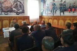 Встреча с пенсионерами Вооруженных Сил КР