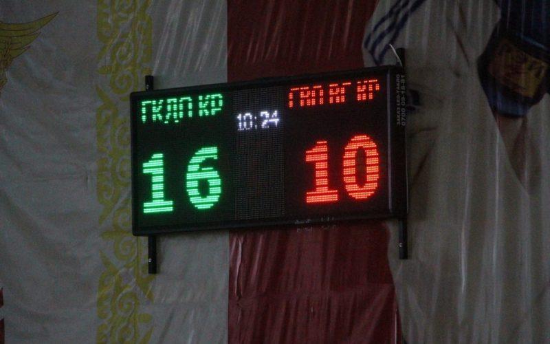 ГКДО проводит турнир по волейболу среди команд Вооруженных Сил