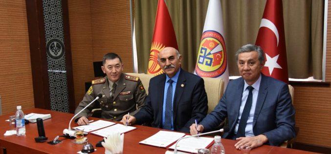 Подписано соглашение ВИ ВС КР с КТУ «Манас»