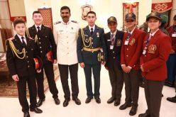 Военные лицеисты в Индии