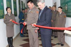 Открытие класса истории пограничных органов в Военном институте ВС КР