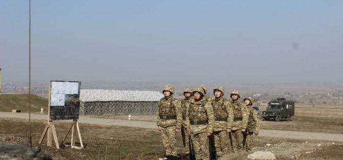 Полевые сборы курсантов военного института
