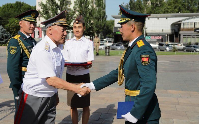 Пополнение в рядах офицеров