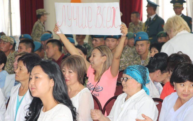 Военные отмечают день медиков
