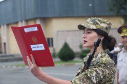Церемония торжественного принятия военной присяги